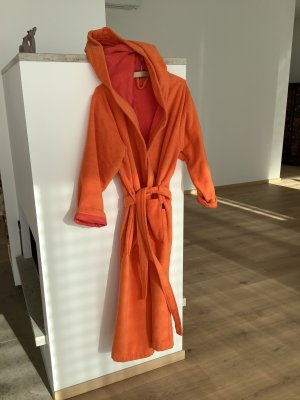 Bathrobe neon orange-raspberry-red
