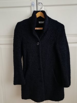 FOX'S Short Coat blue polyester