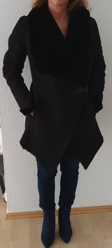 Coeur Pelt Coat black