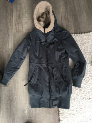 Ragwear Hooded Coat dark blue