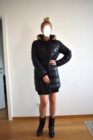 Moncler Płaszcz puchowy czarny-taupe
