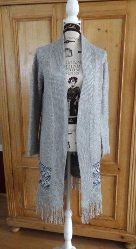 Aphorism Knitted Coat light grey polyacrylic