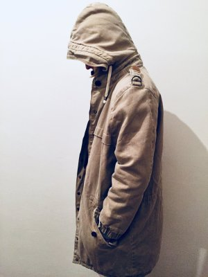 Custommade Parka sand brown cotton