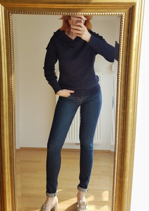 Sisley Wool Sweater dark blue