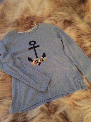 Maglione di lana azzurro