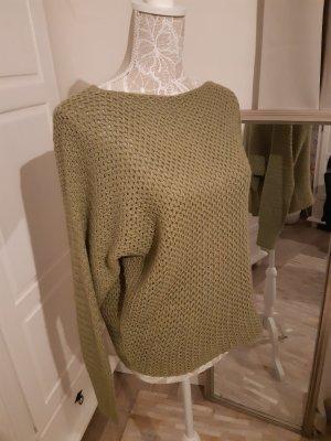 kuscheliger Pullover von HAILYS in salbeigrün M/L