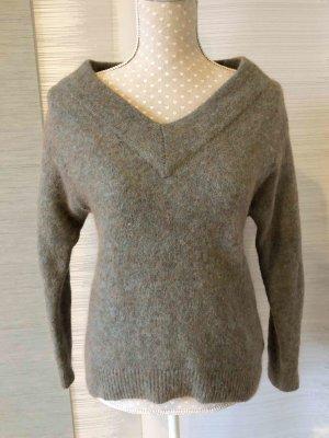 H&M Premium Wełniany sweter Wielokolorowy Wełna z alpaki