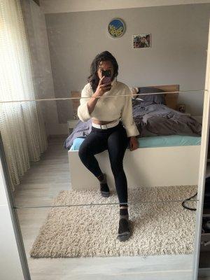 Turtleneck Sweater white