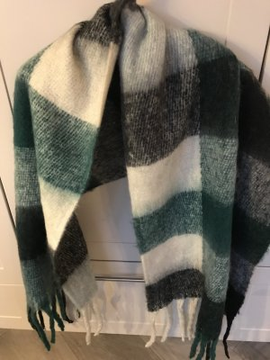 Wollen sjaal veelkleurig Viscose