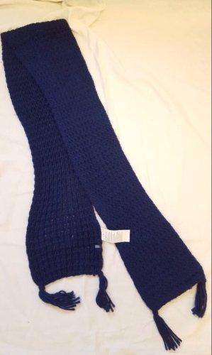 Cecil Knitted Scarf dark violet-dark blue polyacrylic