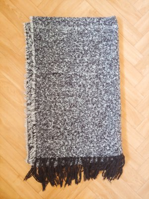 Monki Fringed Scarf multicolored cotton