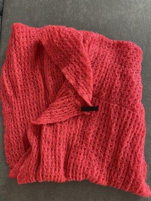 Accessorize Bufanda de punto rojo