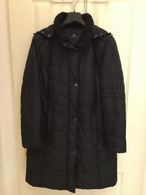 Peter Hahn Gewatteerde jas donkerblauw Polyester