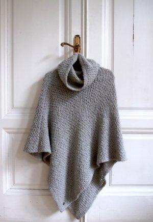 TIF-TIFFY Poncho en tricot multicolore laine