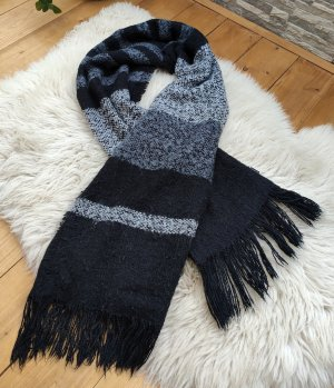 H&M Divided Knitted Scarf multicolored