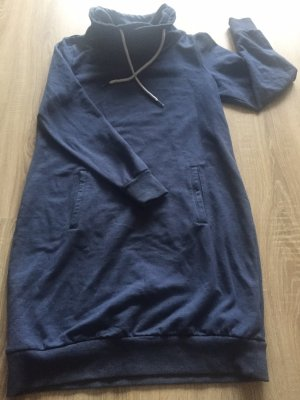 Blue Motion Robe Sweat bleu-bleu foncé coton