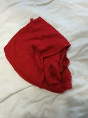 Anna Field Wollen sjaal donkerrood
