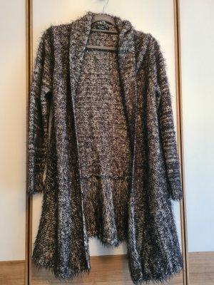 Gina Benotti Coarse Knitted Jacket black-grey