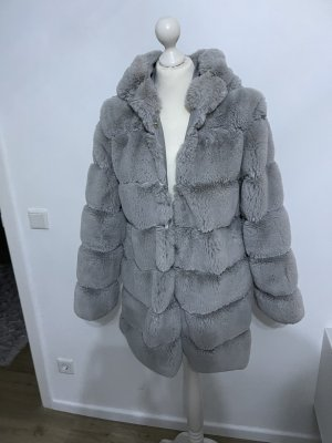 keine Hooded Coat light grey-grey