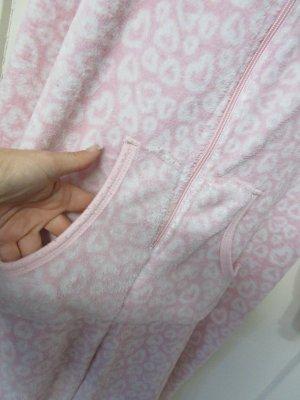 / Tenue pour la maison rose clair tissu mixte