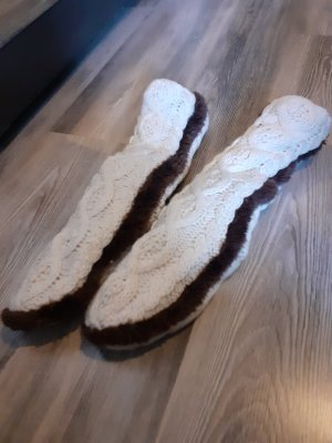 House Boots natural white