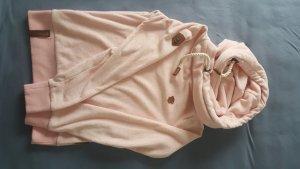 Naketano Pullover in pile rosa pallido Poliestere