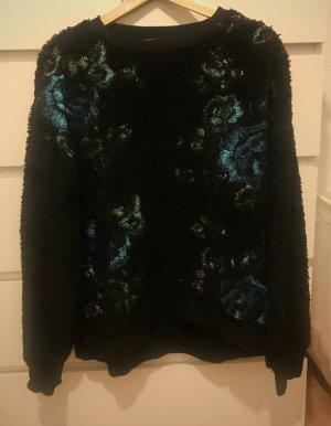 Zara Trafaluc Oversized Sweater multicolored mixture fibre