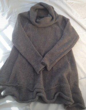 Maglione dolcevita grigio Lana