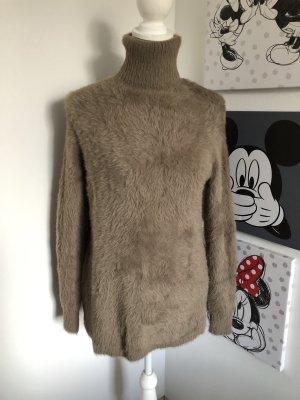 Zara Knit Turtleneck Sweater multicolored
