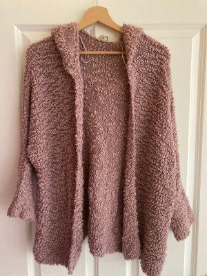 17&co Cardigan in maglia color oro rosa