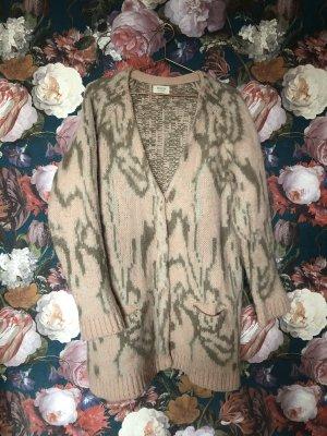 Kuschlig! Oversize Cardigan in Marble Norweger Muster