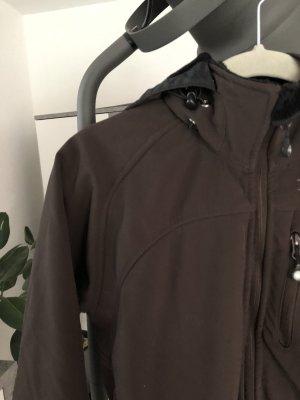 Loesdau Fleece Jackets brown-black