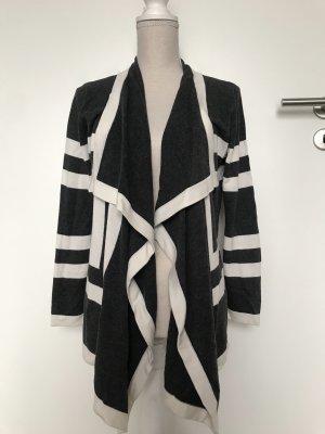 Alba Moda Cardigan noir-blanc