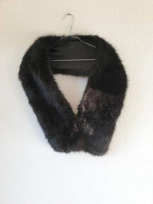 Accessoires Szalik z frędzlami czarny
