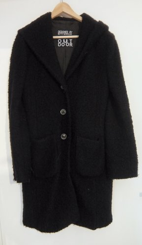 Betty Barclay Abrigo con capucha negro