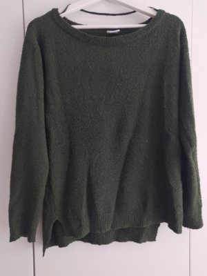 Vero Moda Pullover a maglia grossa verde bosco