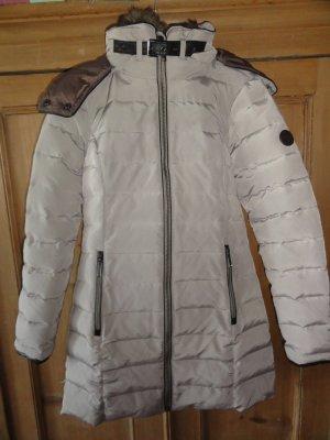 Kuschliger Wintermantel mit abnehmbaren Pelz und Kapuze