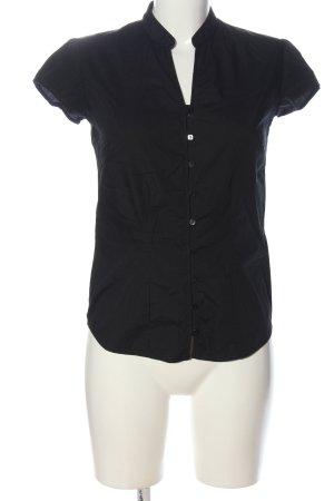 KUSTOM KIT Camicia a maniche corte nero stile casual