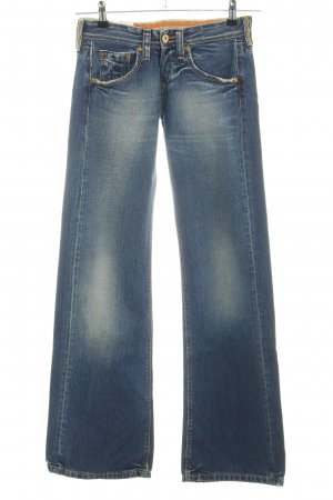 Kuyichi Jeansschlaghose blau Casual-Look