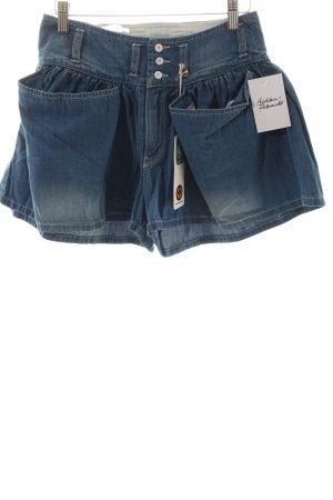 Kuyichi Shorts hellblau Casual-Look