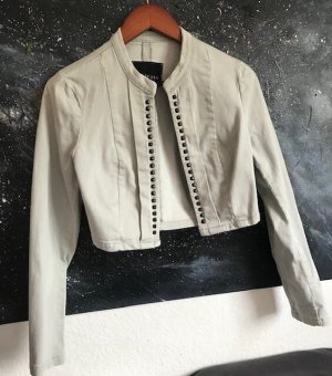 Melrose Short Blazer light grey cotton