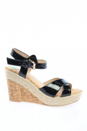 Kylie Strapped High-Heeled Sandals multicolored casual look