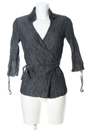 Kyra&Ko Langarm-Bluse silberfarben Elegant
