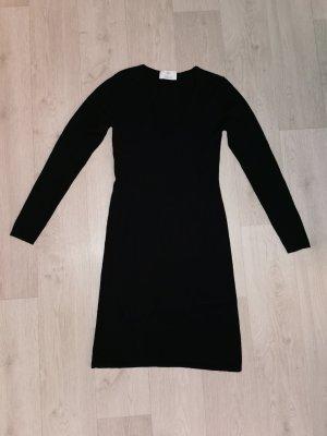 Allude Vestito di lana nero