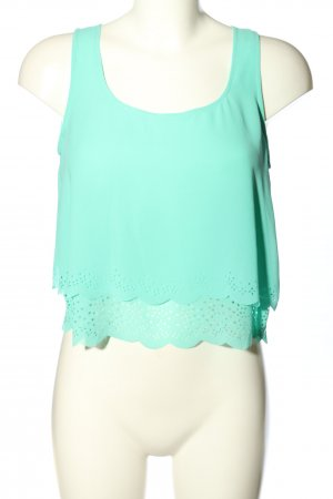 L.A. Hearts Top cut out turquesa look casual