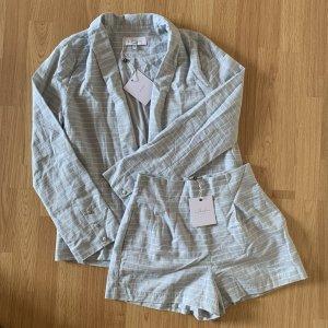 L'Academie The Carter Blazer Short Co Old Suit Anzug Hose retro vintage Sommeranzug bohemian 70s 80s boyfriend