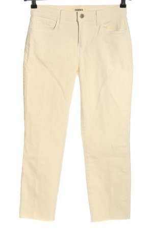 L'Agence Jeans a 3/4 bianco sporco stile casual