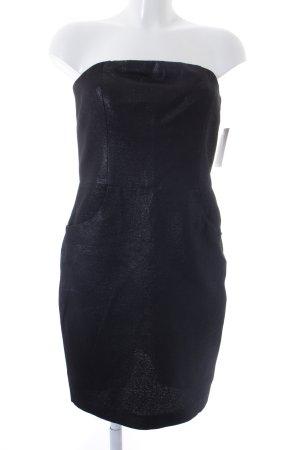 L'Agence Bustierkleid schwarz Casual-Look