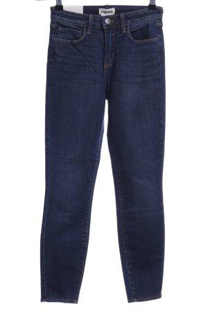 L'Agence Skinny Jeans dunkelblau Jeans-Optik