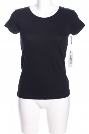 L'Agence T-Shirt schwarz Casual-Look